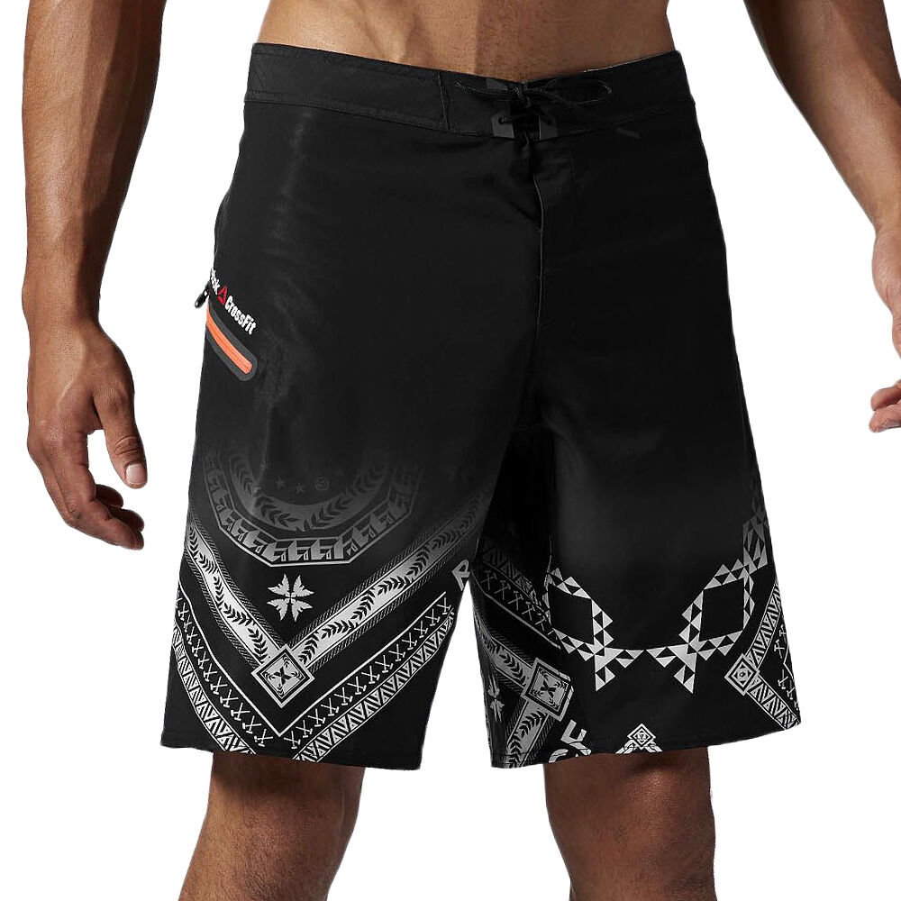 G New  Herren Reebok Crossfit CF Shorts Super Nasty Performance Board Tough Mud