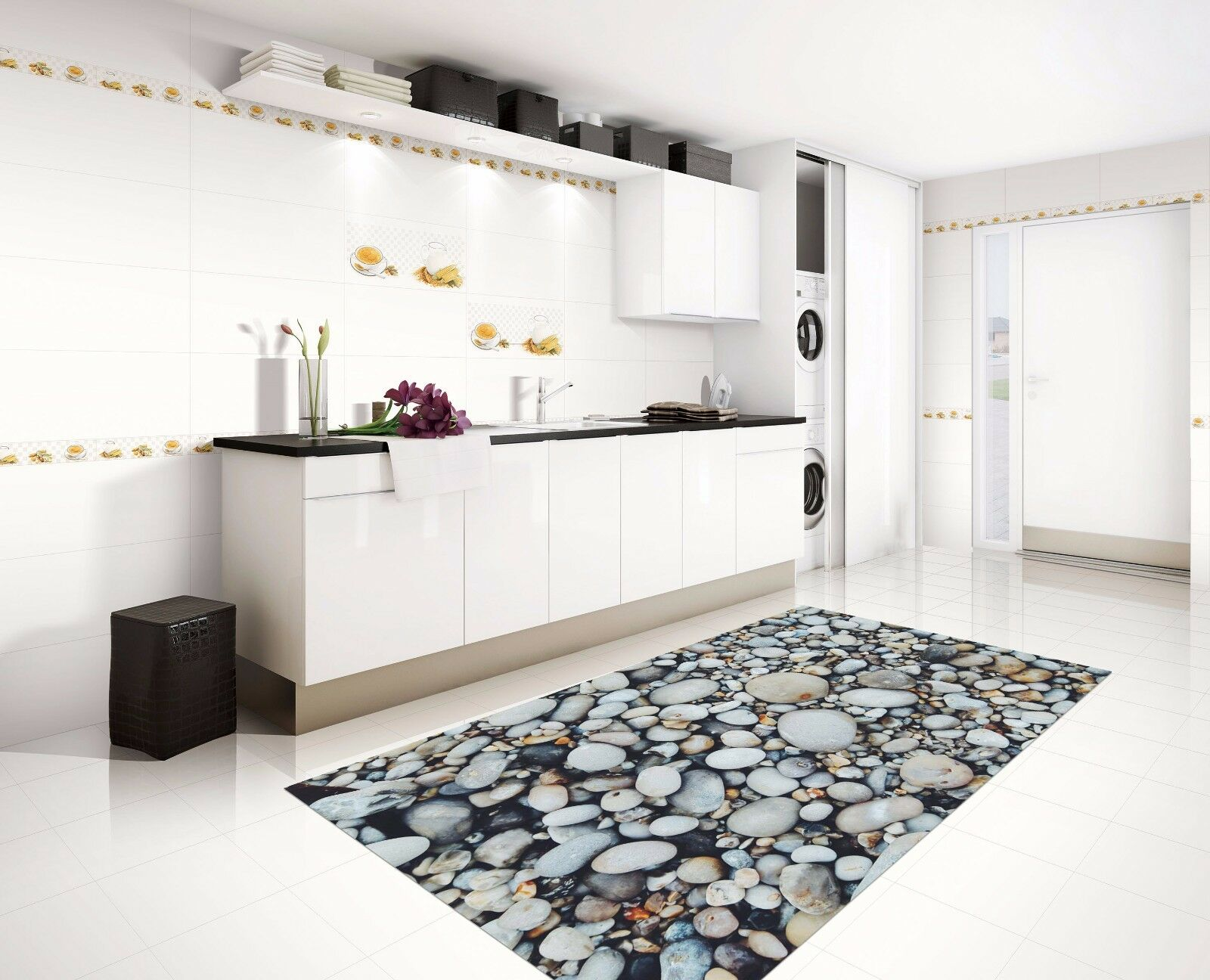3D Dense Stones 1 Kitchen Mat Floor Murals Wall Print Wall Deco AJ WALLPAPER AU