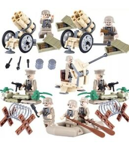 Army-Minifigures-Weapons-Set-German-Wehrmacht-Legos-Comp-Military-MiniFigure-Set