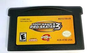 Tony-Hawk-Pro-Skater-3-Nintendo-Gameboy-Boy-Advance-GBA-Game-Tested-WORKING