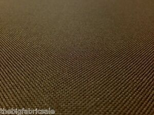 TOUGH WATERPROOF BROWN OUTDOOR CANVAS FABRIC MATERIAL ...