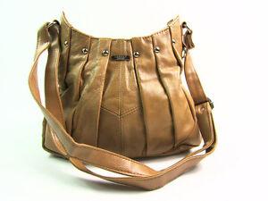 LADIES WOMENS REAL LEATHER TOTE CROSS OVER BODY SHOULDER BAG PURSE HANDBAG