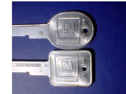 NOS GM 69 THRU 84 KEY BLANKS-ALL GM MODELS-$9.99 EACH!!