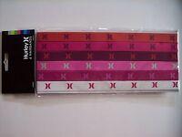 Hurley Hairbands 6pk Assorted Colors Logo Nip
