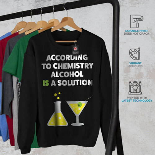 Sudadera Geek Nerd Funny Nuevo Hombres Negro Alcohol xa6Ivn