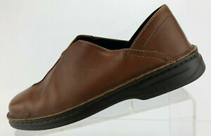 Josef-Seibel-Loafers-Brown-Leather-Casual-Shoes-Comfort-Womens-Size-38-US-7-7-5
