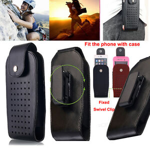 iPhone-7-7-Plus-6S-TRADESMAN-Belt-Clip-Holster-PU-Leather-Case-Pouch-for-Apple