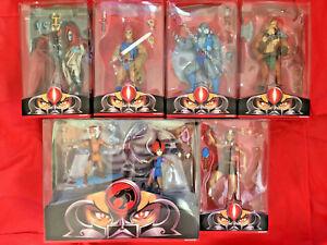 Thundercats Classic Ensemble complet de 6 figurines de terre tiers de club Mattel Lion-o
