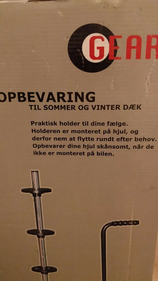 Andet biltilbehør, Dækopbevaring (vogn)
