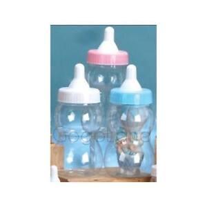 10 034 13 034 big large jumbo fillable bottle baby shower favors blue