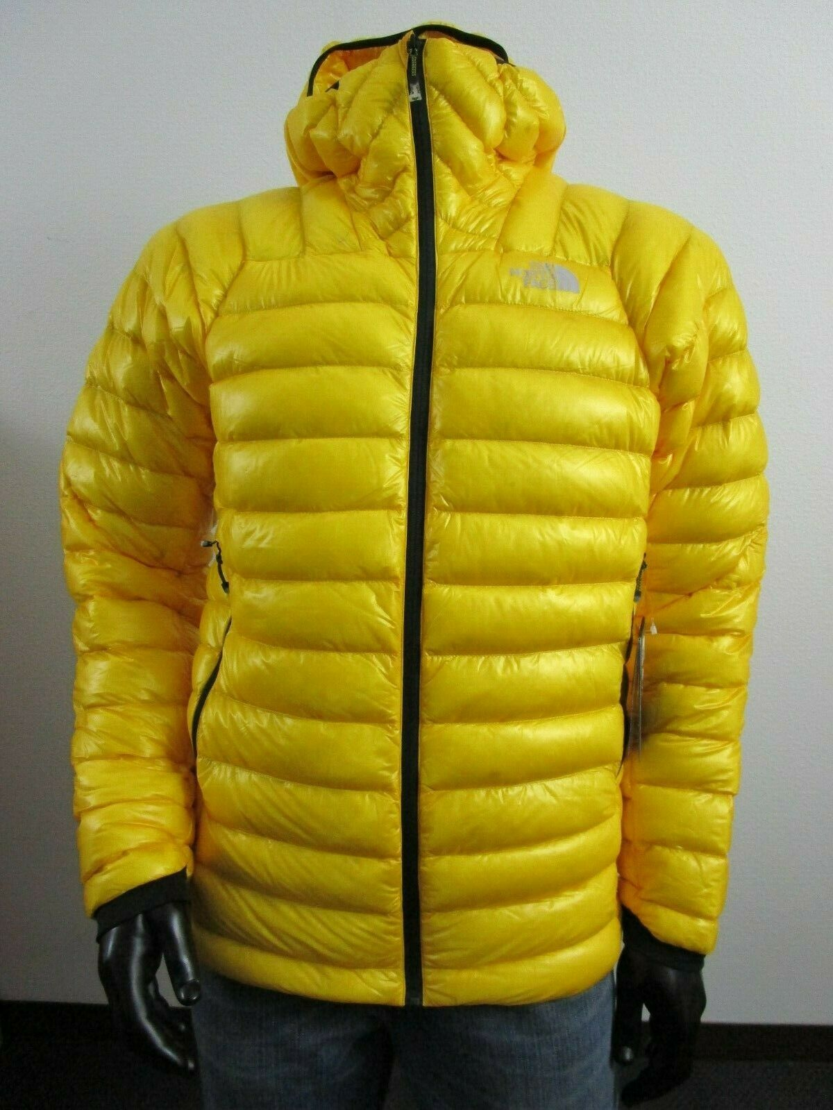 NWT Mens TNF The North Face L3 Ventrix Hooded Insulated Climbing Jacket Yellow