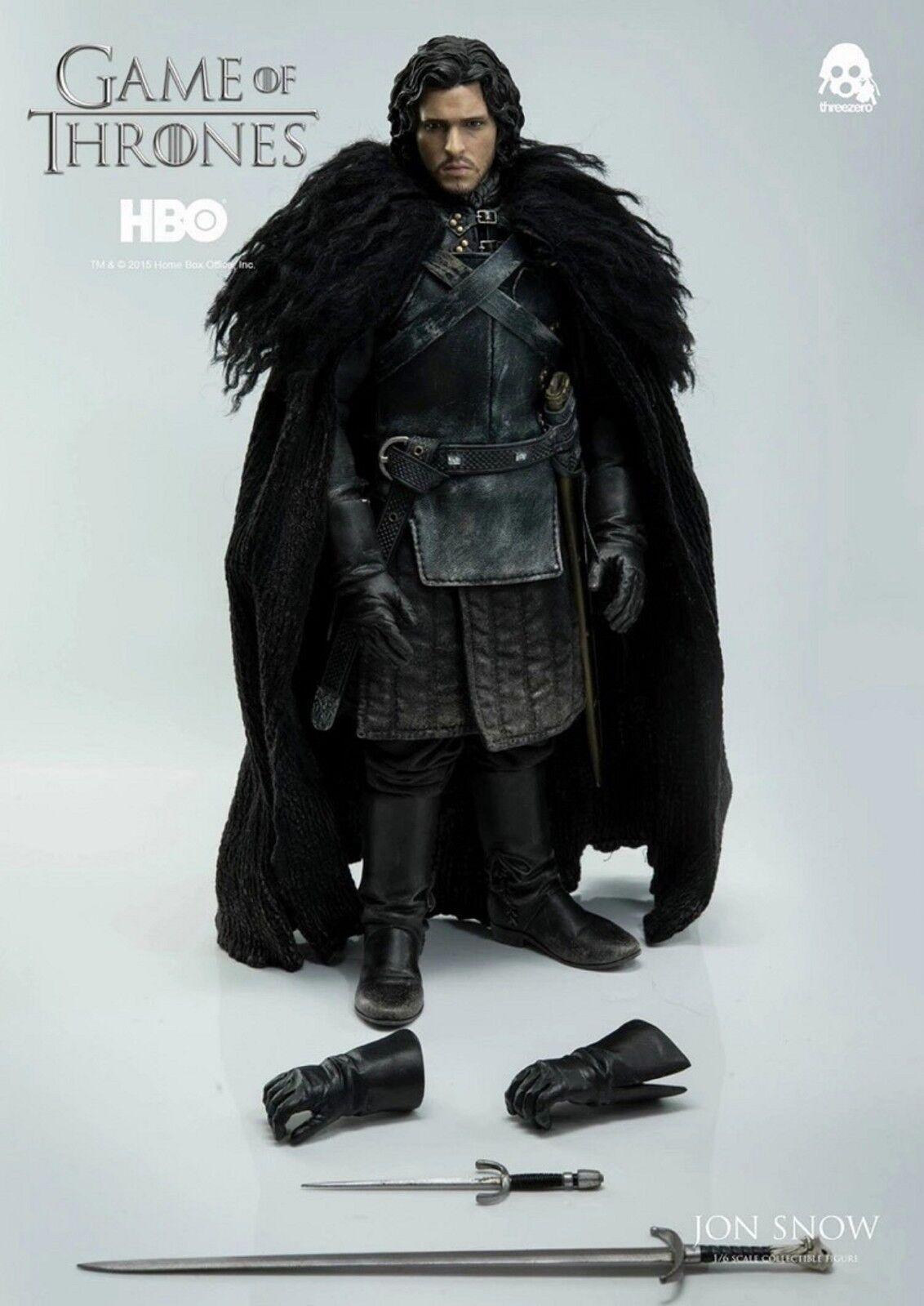 Threezero Game Of Thrones Jon Snow - 1:6th scale figure Set