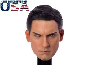 1-6-Spider-Man-Tobey-Maguire-Head-Sculpt-3-0-For-Hot-Toys-PHICEN-Male-Figure-USA