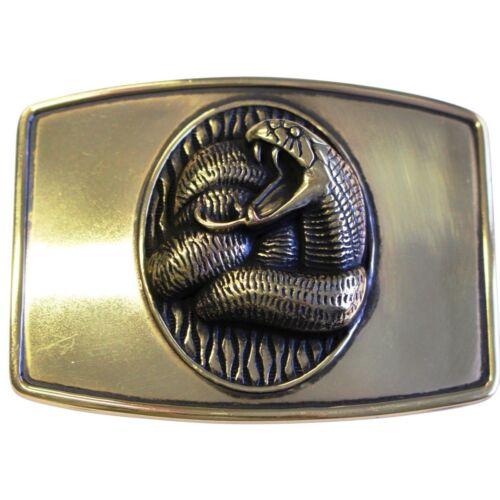 Gürtelschließe Schlange 4,0 cm  ns Auswahl SALE Günstig Preiswert Billig