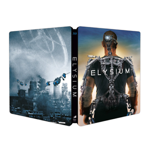 ELYSIUM (Steelbook) (Blu-ray+Dvd)
