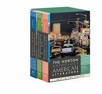 The Norton Anthology of American Literature Vol. C, D, E (2011, Paperback)