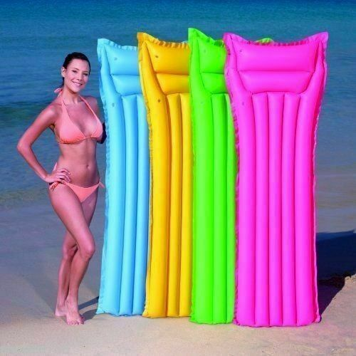 """NEW Splash and Play 72/"""" Inflatable Bed Mattress Swim Mat Float ages 12+"""