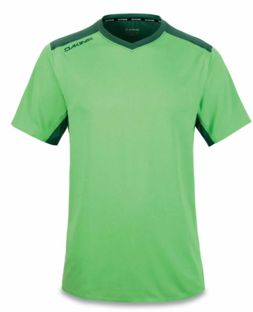 Dakine BOUNDARY Mens Short Sleeve Cycling Jersey Large  Sum Green NEW 2019 Sample  store