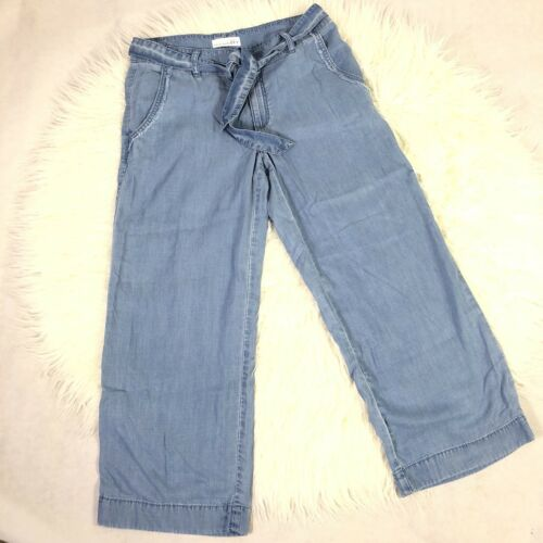 palazzo vita a Jeans New tasche pantalone donna alta a 27 jeans Sz Ligh lavaggio gArwfvqg