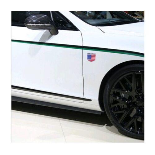 1x Metal USA Flag Emblem Badge Sticker  For Auto SUV Door Aluminium Decoration