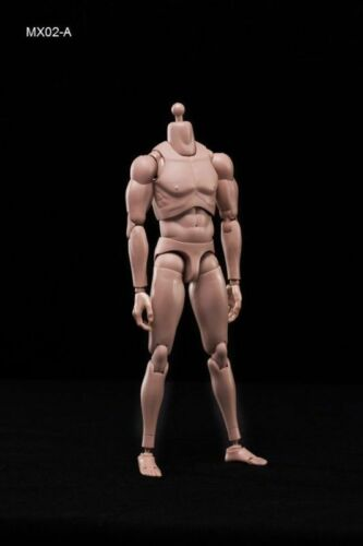 "12/""in Toys CN MX02-A 1//6 Scale Europe Skin Male Body Figure Model COOMODEL"