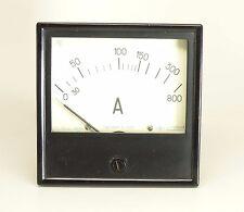 Russian Analog Ac 0 800 Amper Panel Meter Ussr