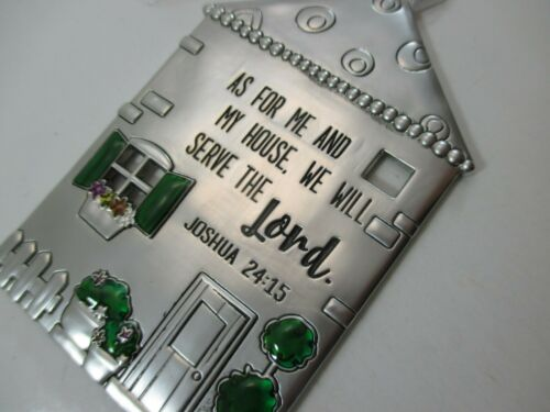 zze As for me and my house we will serve the Lord NO PLACE LIKE HOME ornament