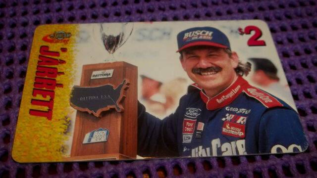 1995 ASSETS RACING DALE JARRETT $2.00 PHONE CARD