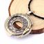 Unisex-Snake-Rune-Pendant-Necklace-Viking-Norse-Ouroboros-Gift-UK-Stock miniatuur 2