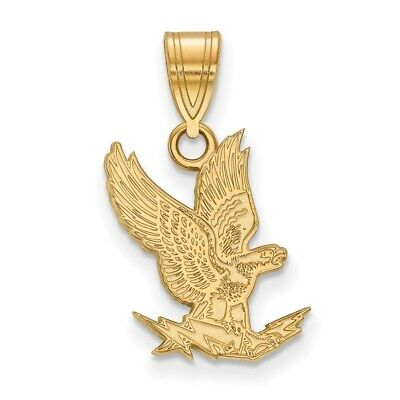 US Air Force Academy Falcons School Letters Pendant Necklace in Sterling Silver