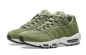 Details about Wmns Nike Air Max 95 UK 9.5 EUR 44.5 Palm Green Sail New 307960 300