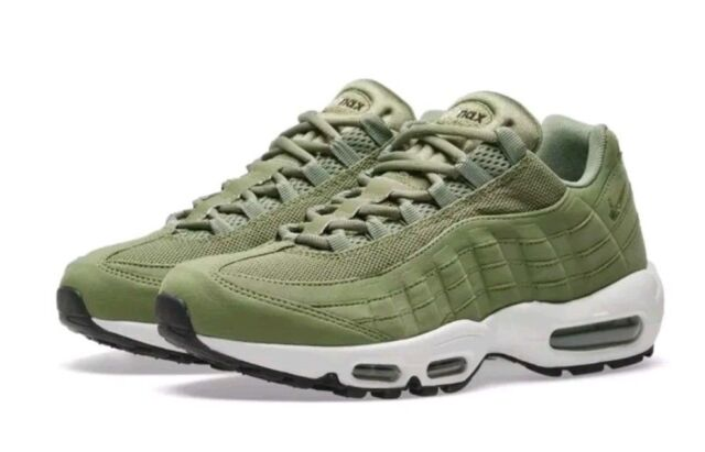 best service 40562 75225 Wmns Nike Air Max 95 UK 9.5 EUR 44.5 Palm Green Sail New 307960 300