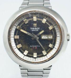 Tissot T12 Brown Automatic Mens Swiss Wrist Watch