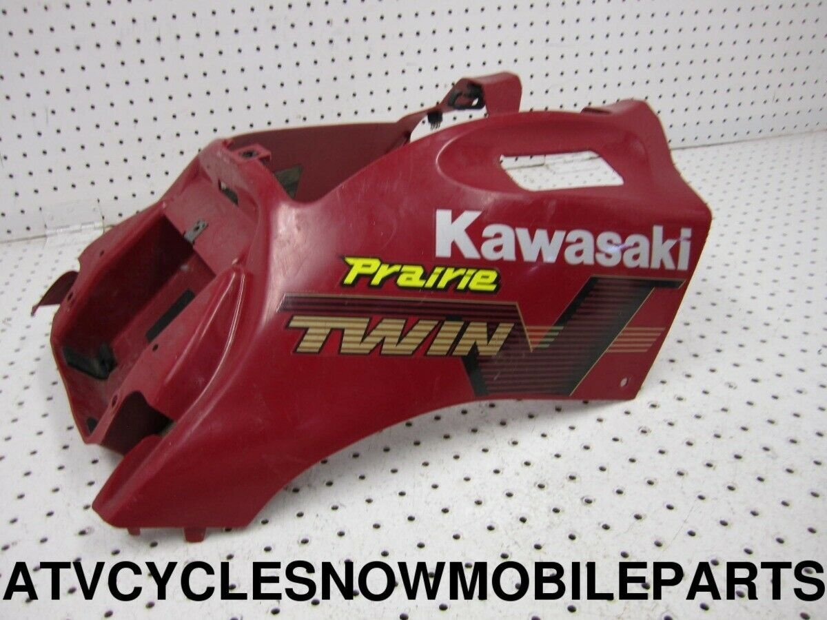 Kawasaki Cover Fuel Tank A.Red 14091-1423-260 New Oem