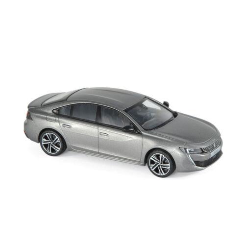 Norev 475822 Peugeot 508 GT grau metallic Maßstab 1:43 Modellauto NEU!°