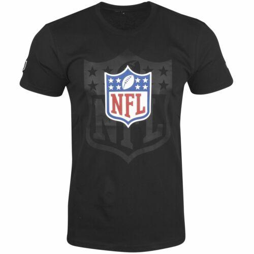NFL Shield League Logo 2.0 schwarz New Era Fan Shirt