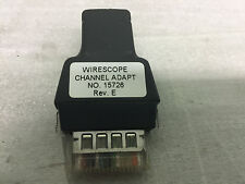 Agilent Wirescope155 Amp 350 Channel Adapter Used To Test And Certify Cat5e Cable