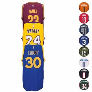 pretty nice 22ac5 4c74f Image is loading NBA-Adidas-Official-Team-Players-Climacool-Swingman-Jersey-
