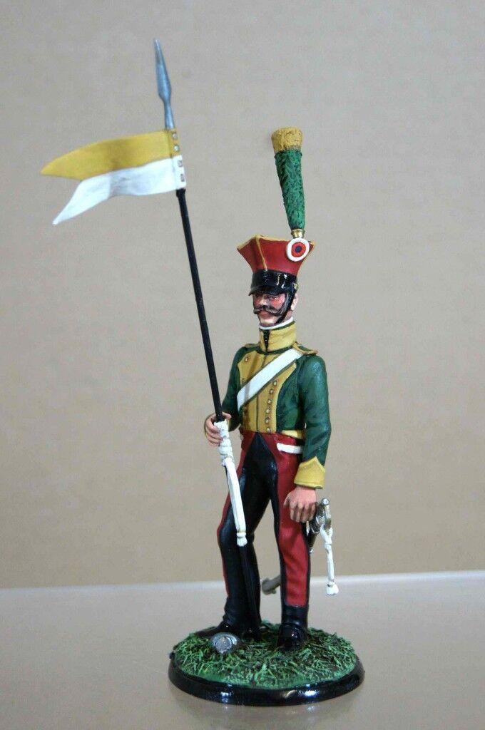 fino al 70% di sconto J Benassi Napoleonica Francese Lancer Waterloo Waterloo Waterloo 1815 Studio Dipinto Ow  autorizzazione ufficiale