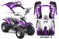 Yamaha Breeze 125 Graphics Sticker Kit Amr Racing Atv Quad Decal 89-07 Carbon Pr