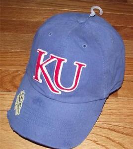 de43cbc4c9df3 NEW  47 Brand NCAA Franchise University Kansas Jayhawks Distressed ...