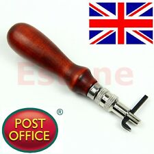 Adjustable Leather Edge Stitching Groover Leathercraft Groove Gouge DIY Tool 1mm