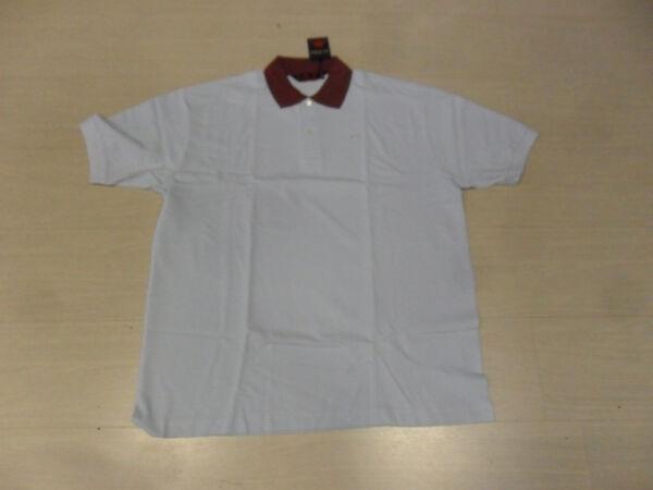 1324 Kappa Xl Polo Cotone Nido D'ape Reo Azzurra Amaranto Robe Di Kappa