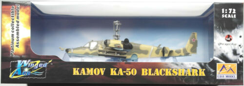 Easy Model Kamov KA-50 Helicopter Hubschrauber Russian Air Force N° 21 1:72 Neu