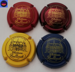 4 Capsules De Champagne Chateau De Bourseault Toutes Différentes !!!! Euzahohi-08002350-989413880
