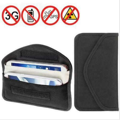 Anti Theft Keyless Entry Car Key Fob RFID Signal Blocking Faraday Cage Pouch Bag
