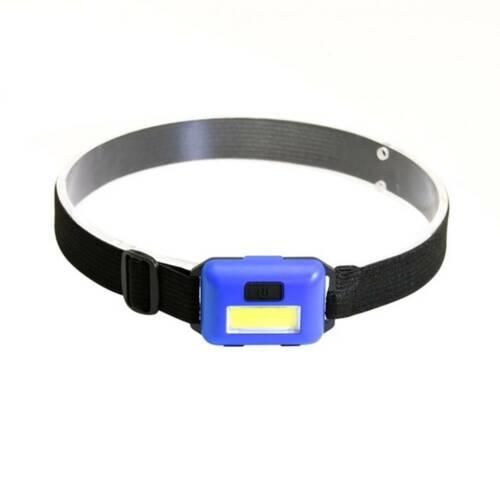 Mini Head Light Flashlight COB LED Torch Lantern AAA Outdoor Camping Headlamp