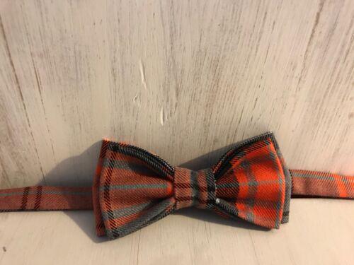 peut fournir Toute Longueur sangle réglable haute qualité tweed Garçons Tartan Noeud Papillon