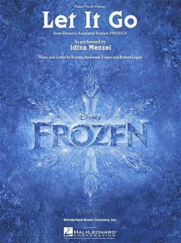 Let It Go Piano Vocal Guitar Sheet Music from Disney/'s Frozen