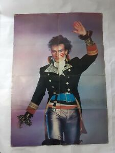 Adam-And-The-Ants-Prince-Charming-Song-Words-And-Poster-Magazine-31-X-23